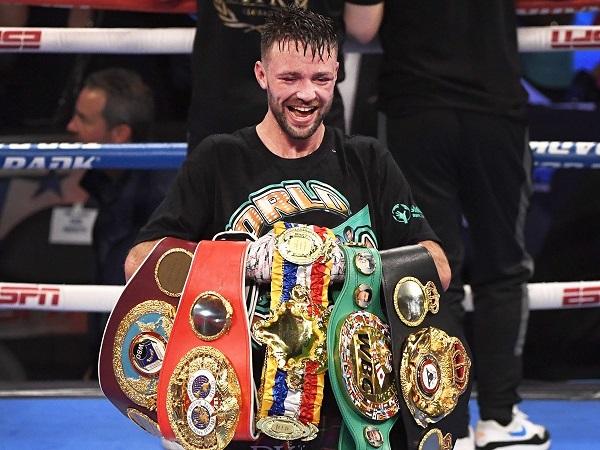 Джош Тейлор – первый британский боксер, ставший чемпионом мира сразу по четырем версиям