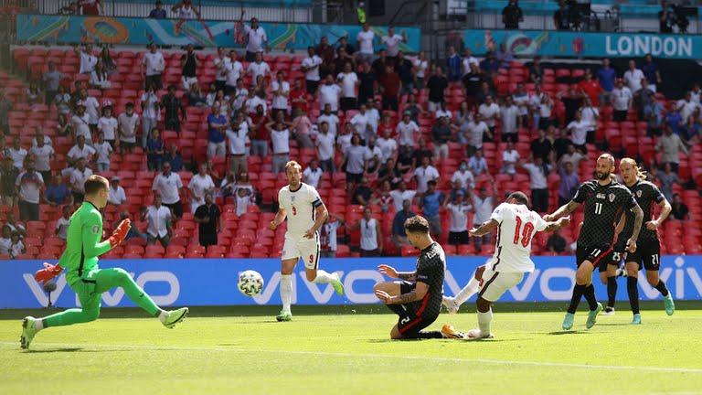 Минимальная победа сборной Англии над Хорватией на Евро-2020
