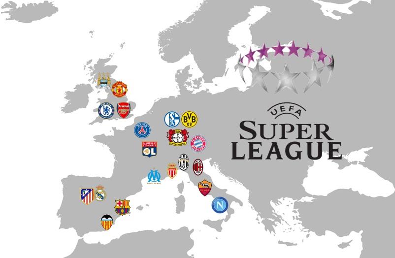 На ФИФА и УЕФА подали в Европейский суд в связи запретом создания футбольной Европейской Суперлиги