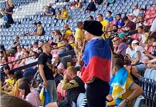 Болельщик из РФ прокомментировал нападение на него болельщиков из Украины во время матча 1/8 финала Евро-2020