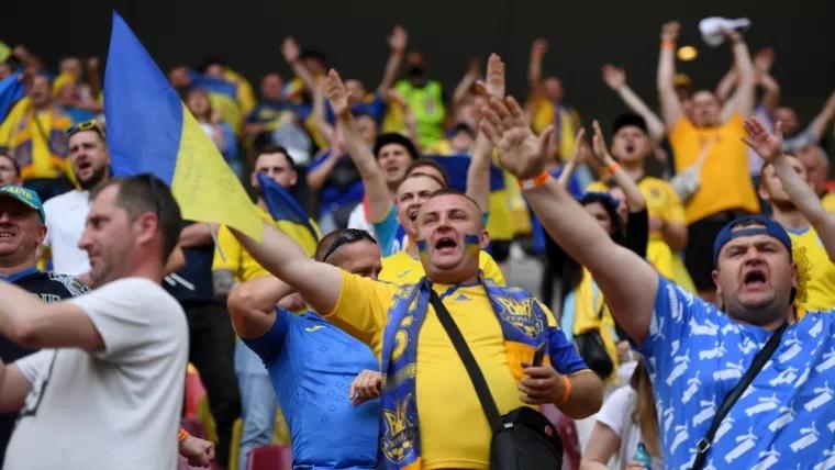 Против украинских болельщиков могут ввести санкции за кричалки  во время игры сборной Украины на Евро-2020