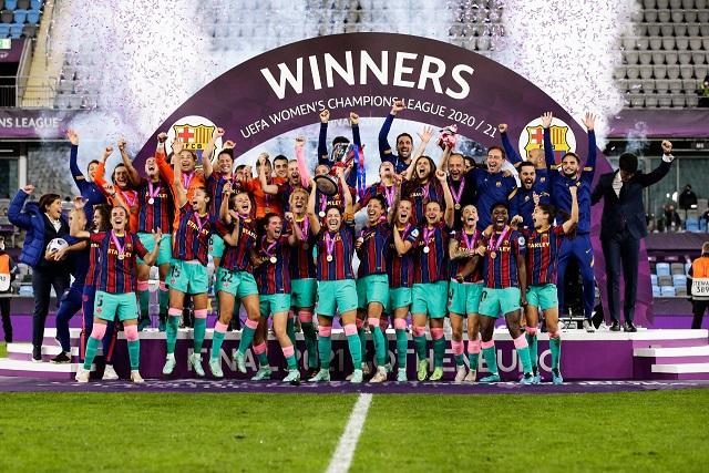 Барселона обыграла Челси и выиграла финал женской Лиги чемпионов