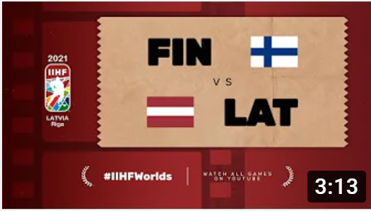 Хоккей. ЧМ в Латвии 2021. Финляндия - Латвия. Highlights