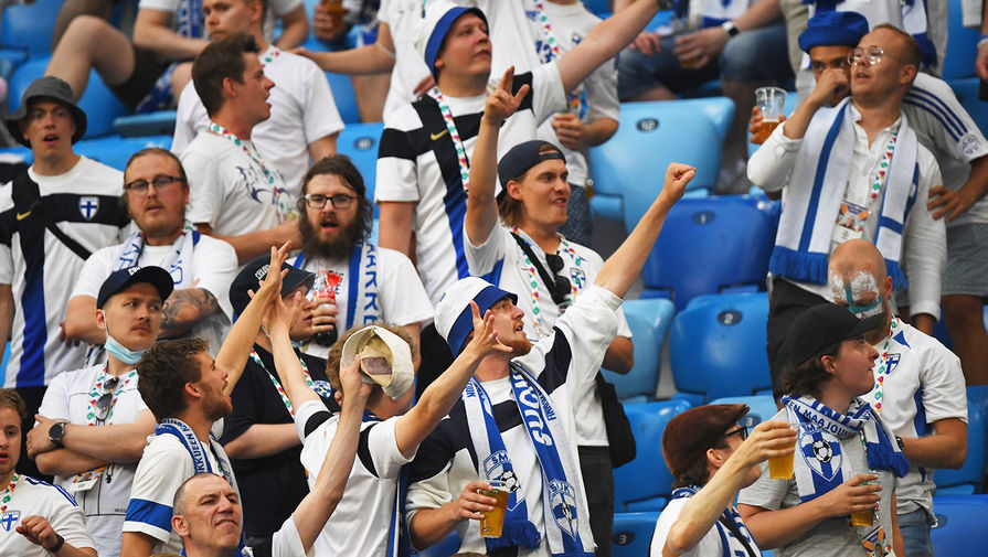 Болельщики сборной Финляндии заразились на Covid-19 во время матчей Евро-2020, которые проходили в РФ