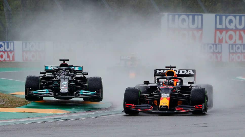 Дождевая гонка в Италии – победа Ферстаппена