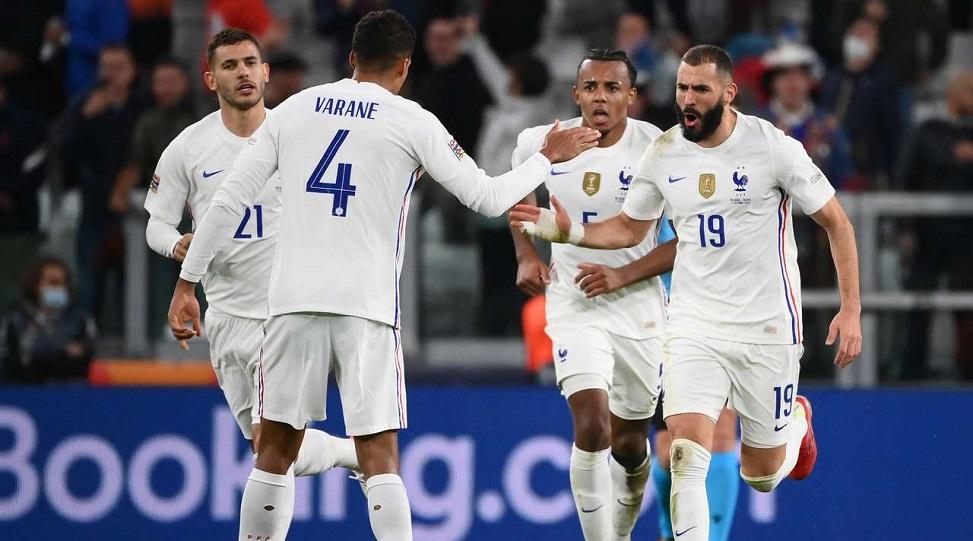 Сборная Франции обыграла Бельгию и прошла в финал Лиги наций