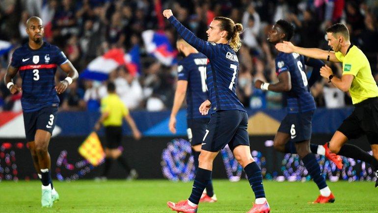Сборная Франции сенсационно сыграла вничью с Боснией и Герцеговиной в рамках отбора на ЧМ-2022