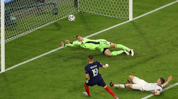 Сборная Франции в невероятном матче обыграла Германию на Евро-2020