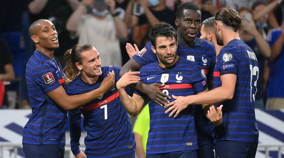 В рамках квалификации на ЧМ-2022 Франция не оставила шансов на успех Финляндии