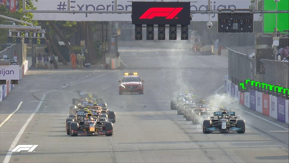 Результаты Гран-при «Формулы-1» в Баку: сразу 4 пилота не смогли прийти к финишу