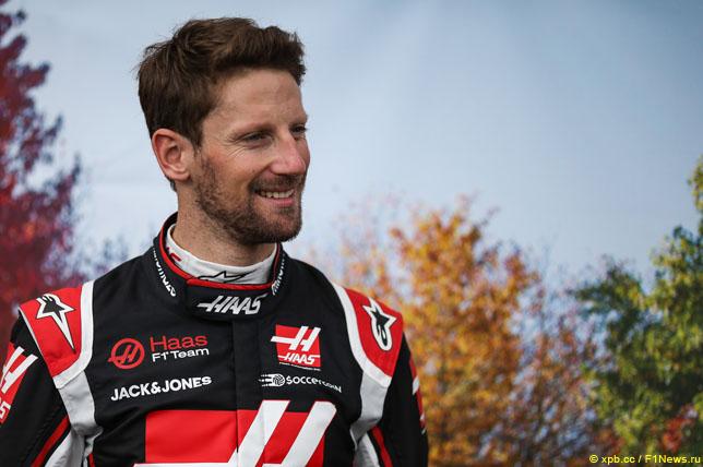 Грожан возвращается в Формулу-1 на домашний Гран-при Франции