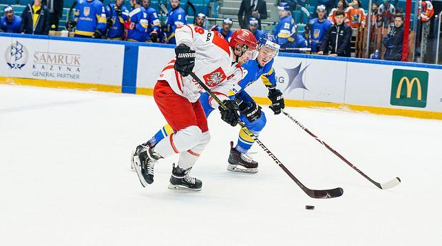 Сборная Украины проиграла сборной Польши на хоккейном турнире в Любляне