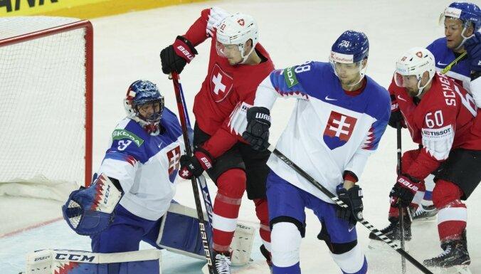 Первое поражение сборной Словакии на ЧМ по хоккею в Риге