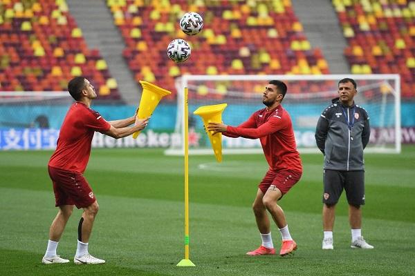 В сборной Северной Македонии проходят «невероятные» тренировки перед важными матчами Евро-2020