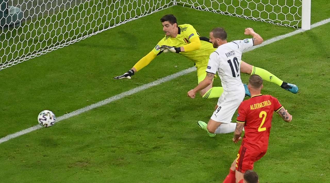 Сборная Италии обыграла сборную Бельгии и прошла в 1/2 финала чемпионата Европы-2020