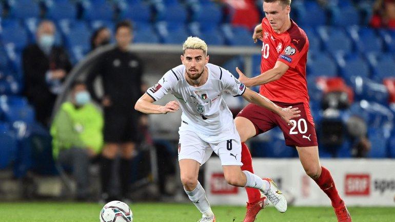 Италия сыграла вничью со Швейцарией и установила новый рекорд в беспроигрышной серии игр