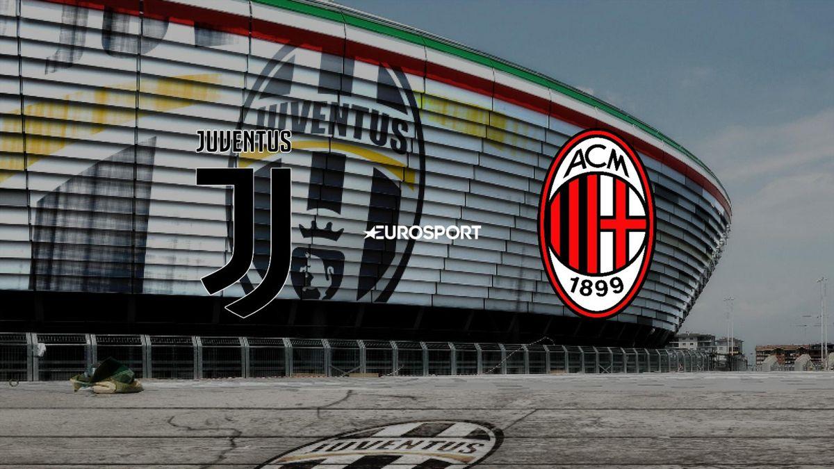 Ювентус - Милан. Матч за борьбу в зоне Лиги Чемпионов