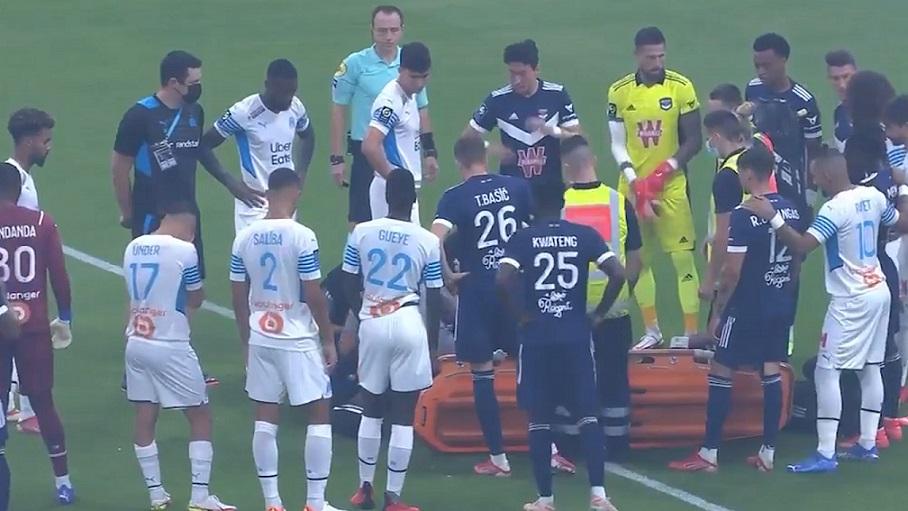 Стала известна причина обморока Самуэля Калу в матче «Марсель» - «Бордо»