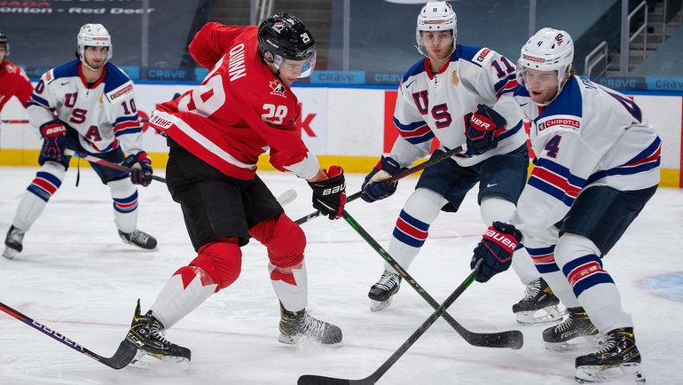 Обзор ЧМ-2021 по хоккею за 23 мая: Дания-Швейцария и Канада-США