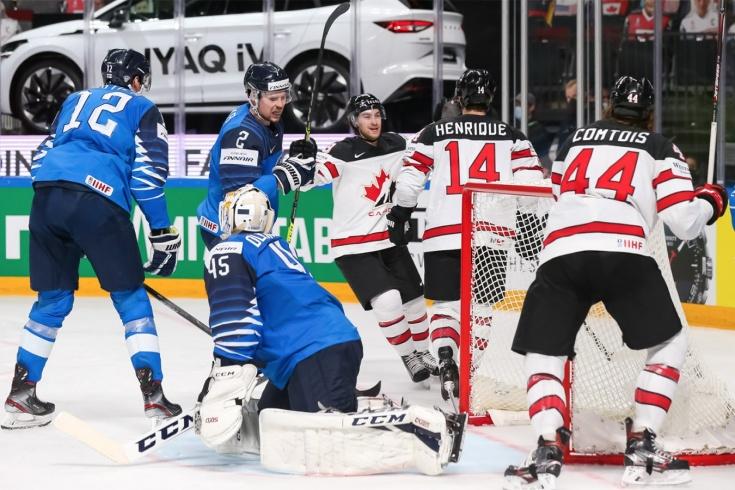 Сборная Канады стала чемпионом мира по хоккею, обыграв в овертайме финских хоккеистов