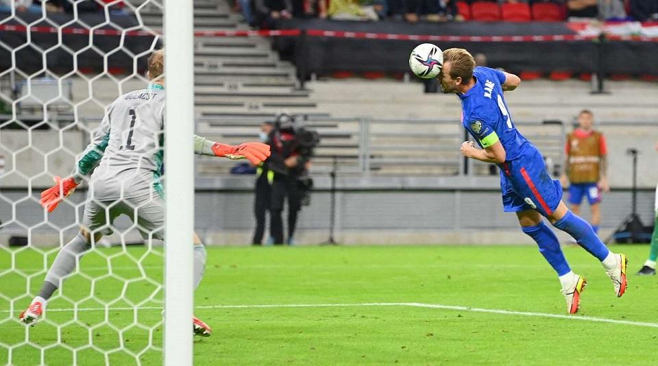 В рамках квалификации на ЧМ-2022 Англия без проблем выиграла у сборной Венгрии