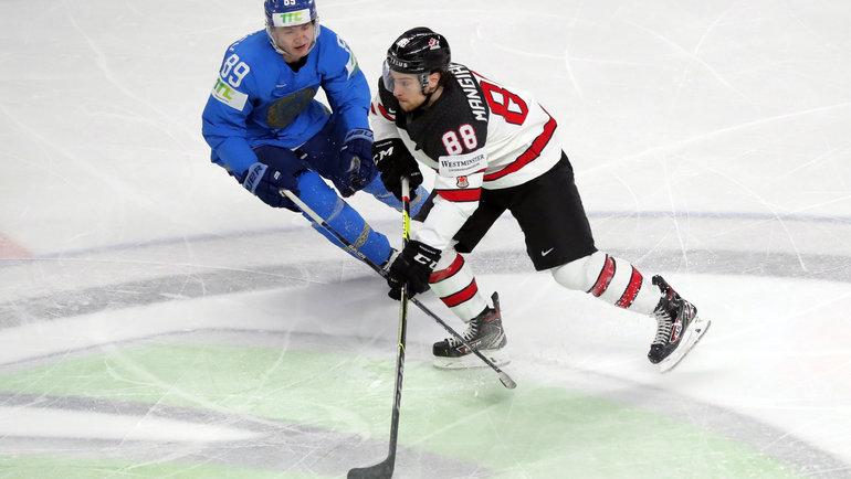 Сборная Казахстана едва не обыграла сборную Канады на ЧМ-2021 по хоккею