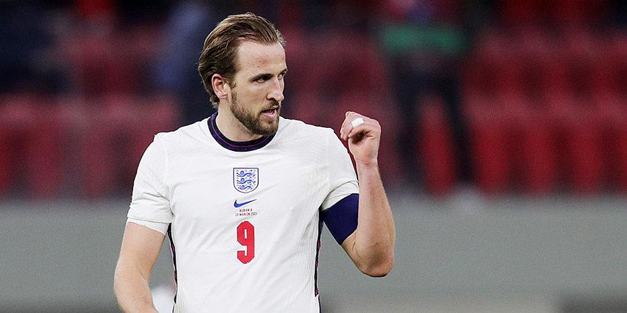 Гарри Кейн вплотную приблизился к рекорду по забитым мячам за сборную Англии
