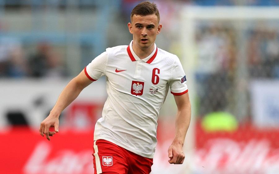 Польский полузащитник Кацпер Козловский стал самым молодым футболистом на Евро-2020
