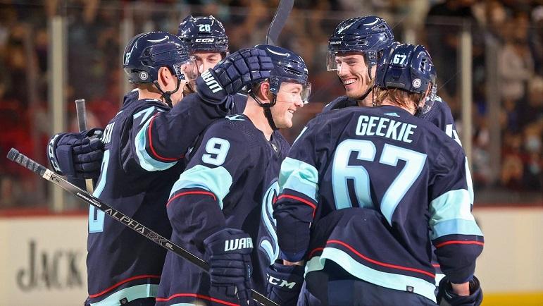 Первая победа в NHL у «Сиэтл Кракен»