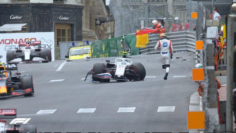 Авария Мика Шумахера на свободных практиках и квалификация пилотов на Гран-при Монако