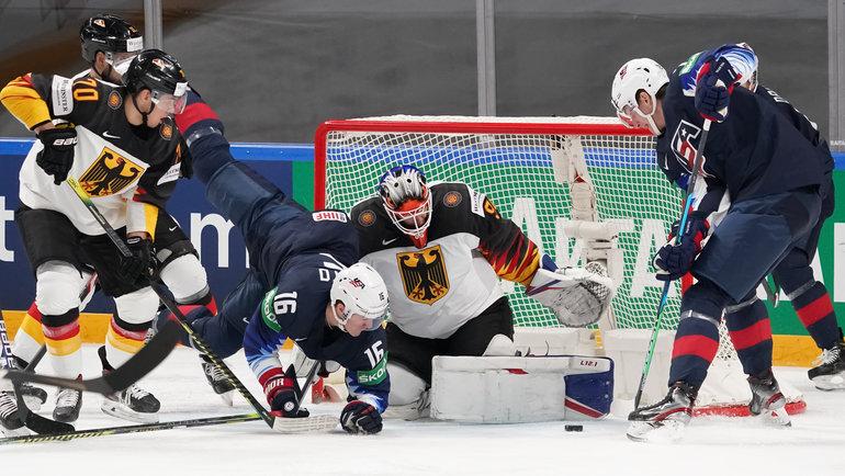 Сборная США гарантировала себе выход в плей-офф ЧМ по хоккею