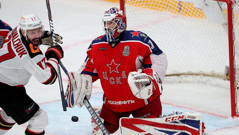 Московский ЦСКА вышел вперед в серии с Авангардом в Кубке Гагарина
