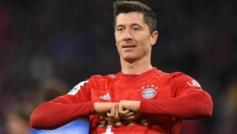 Роберт Левандовски установил новый рекорд в немецкой Бундеслиге