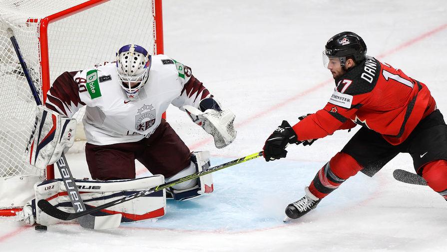Сборная Латвии сенсационно обыграла сборную Канады на Чемпионате мира по хоккею