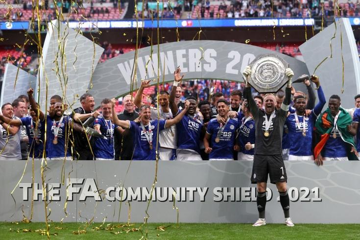 «Лестер» сенсационно выиграл Суперкубок Англии у «Манчестер Сити»