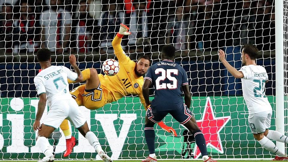 «ПСЖ» обыграл «Манчестер Сити» в матче второго тура группового раунда Лиги чемпионов