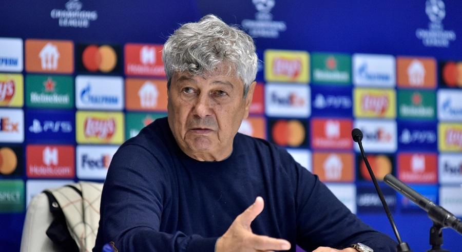 Мирча Луческу прокомментировал игру своих подопечных с «Бенфикой» в рамках группового этапа Лиги чемпионов