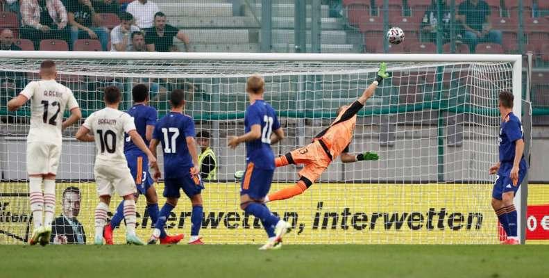 Лунин сыграл за «Реал» в контрольном матче против «Милана»