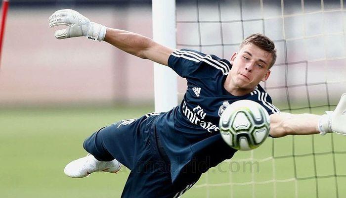 Голкипер мадридского «Реала» Андрей Лунин заинтересовал дортмундскую «Боруссию»