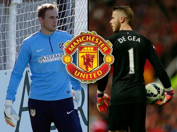 «Манчестер Юнайтед» хочет обменяться голкиперами с мадридским «Атлетико»