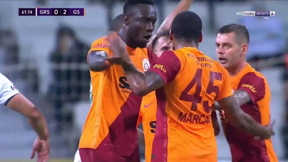 В первом туре турецкой Суперлиги произошла драка в матче «Гиресунспор» - «Галатасарай»