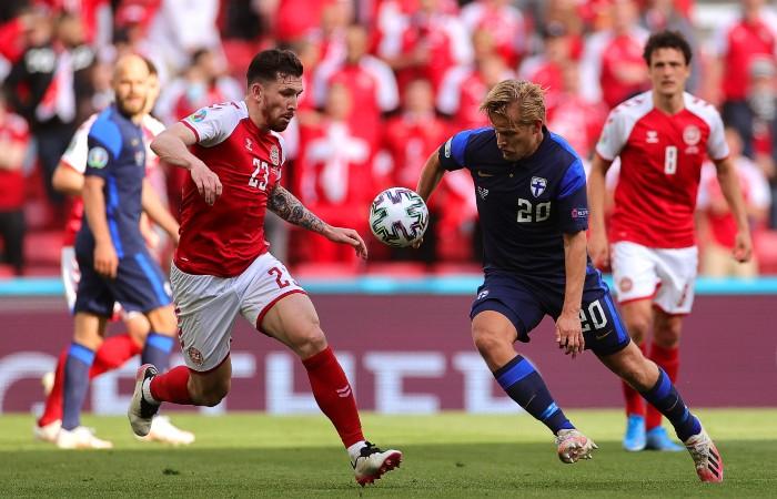 УЕФА не оставила датчанам выбора в матче с Финляндией на Евро-2020