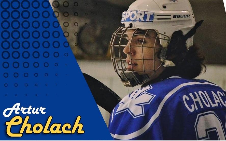 На драфте НХЛ ХК «Вегас Голден Найтс» выбрал украинца Артура Чолача