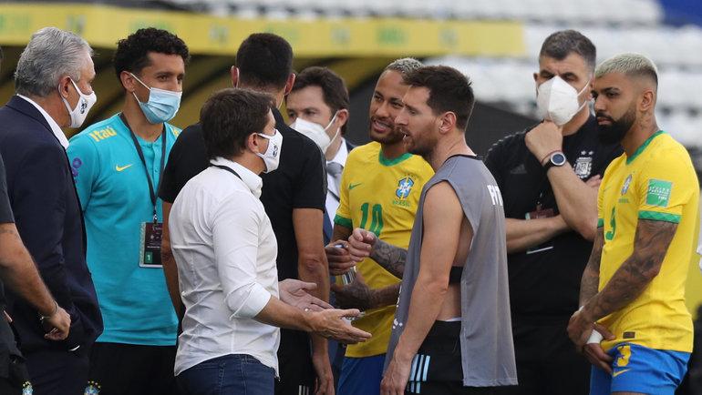 Лионель Месси возмущен отменой матча Бразилия – Аргентина в рамках группового отбора на ЧМ-2022