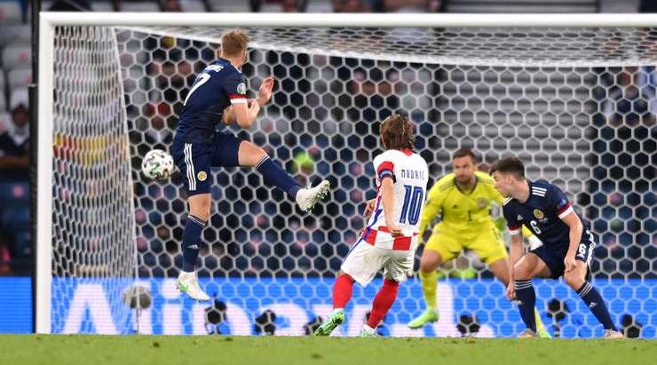 Сборная Хорватии выиграла первую игру группового этапа и выходит в 1/8 финала Евро-2020