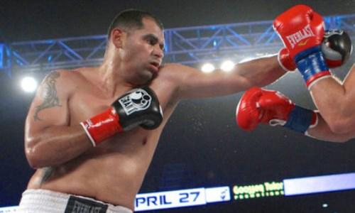 Под мексиканскими боксерами во время боя обрушился ринг