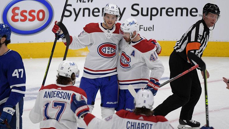 «Монреаль» в напряженном матче победил «Торонто» в 1/8 финала Кубка Стэнли