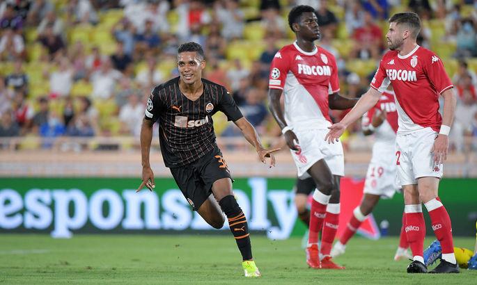Донецкий Шахтёр минимально обыграл французский Монако в первом матче плей-офф квалификации Лиги Чемпионов