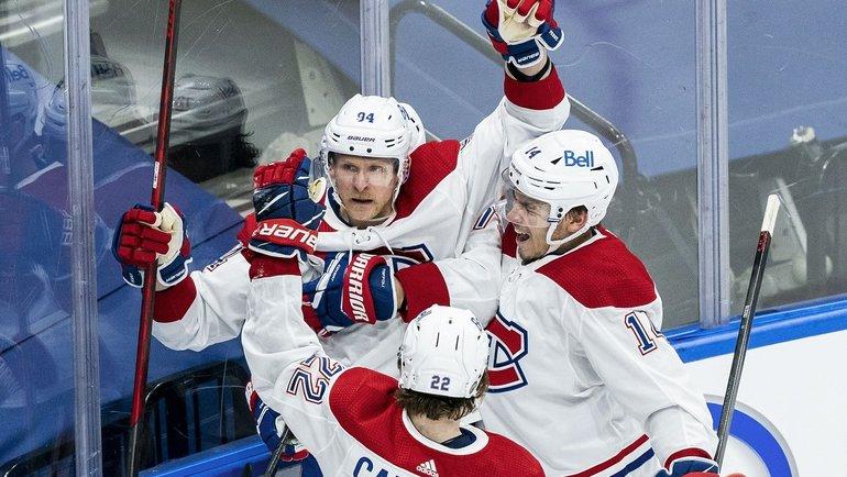 «Монреаль» выиграл серию игр у «Торонто» и прошел в 1/4 финала Кубка Стэнли