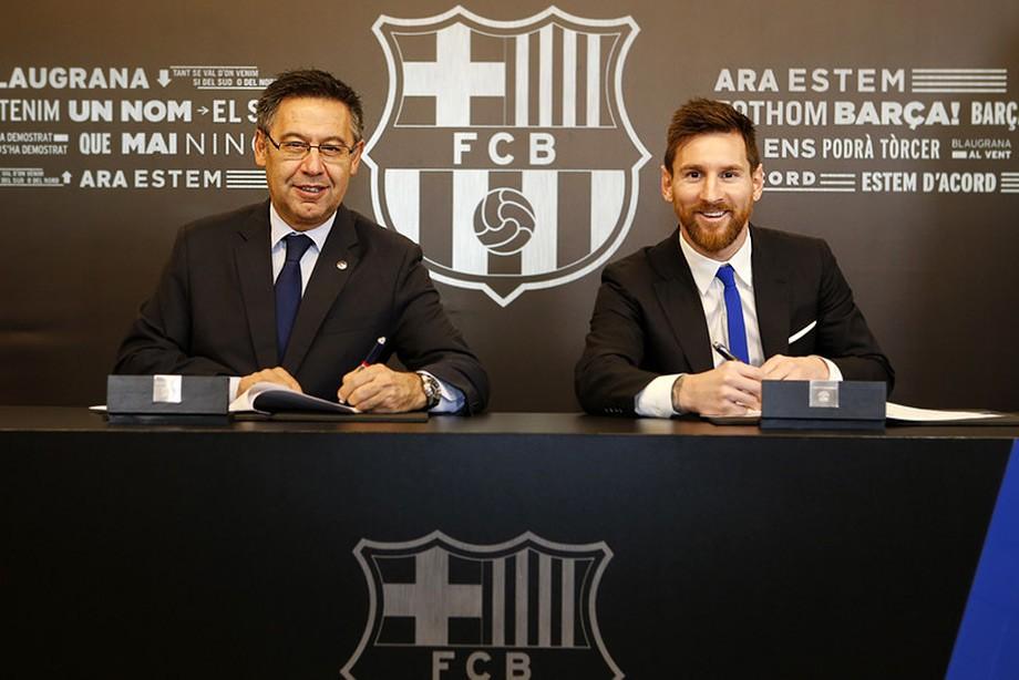 Что помешало «Барселоне» подписать новый контракт с Месси?